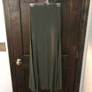 RVCA maxi skirt